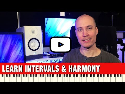 Learn Music Theory for Beginners - Intervals and Harmony