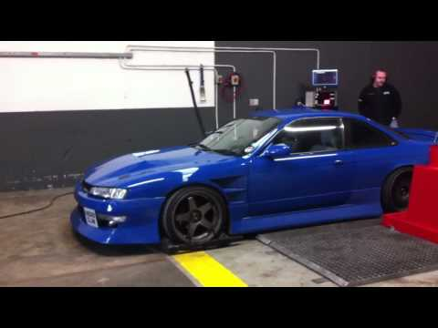 Nissan 200sx / Silvia s14a Drift Kit Rolling Road