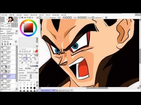 speed painting | vegetta ssj4
