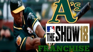 MLB The Show 18 PS4 - Athletics vs Royals Game 2 (Full Broadcast Presentation)