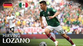 Hirving LOZANO Goal - Germany v Mexico - MATCH 11