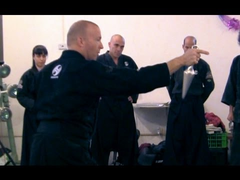 Basic Tanto, Kunai and knife stances -- Ninjutsu techniques for AKBAN wiki Image 1