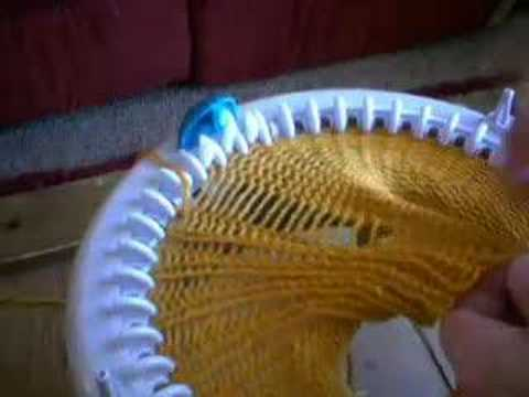 1x1 Ribbing on Innovations Knitting Machine - YouTube