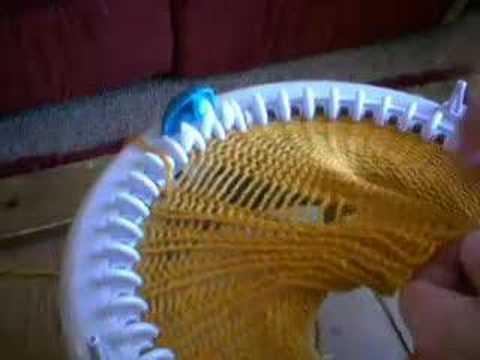 Innovation Knitting Machine Patterns : 1x1 Ribbing on Innovations Knitting Machine - YouTube