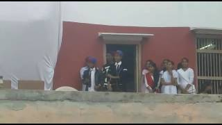 The jubilee school 15 August dance ...Tushar & Aaryan