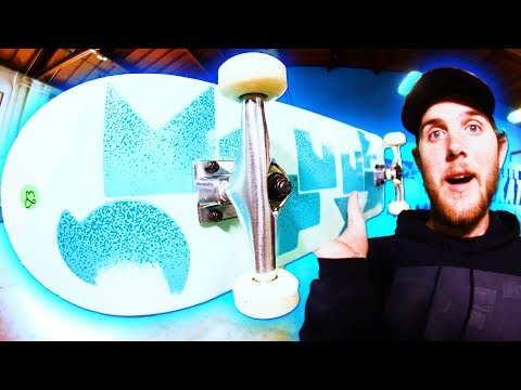 DON'T BREAK THE CHEAPEST SKATE SHOP BOARD!