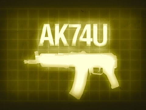 AK74U - Black Ops Multiplayer Weapon Guide