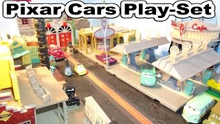 Disney Pixar Cars Radiator Springs Play Set Overview and Review