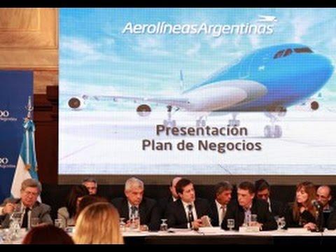 26 de MAR. Mariano Recalde presentó Plan de Negocios 2015/2020.