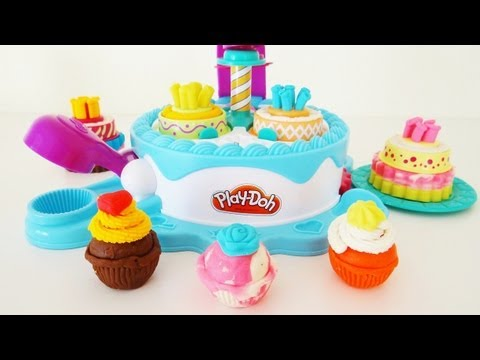 Play-Doh Sweet Shoppe Cake Makin' Station Unboxing