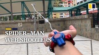 Man creates fully functional Spider-Man web shooter