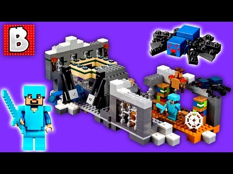 Lego Minecraft The End Portal 21124   Unbox Build Time Lapse Review
