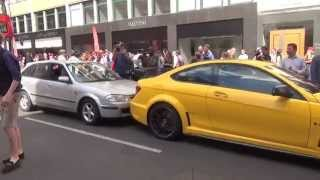 QATARI Mercedes-Benz C63 AMG Black Series CRASHED INTO in London!