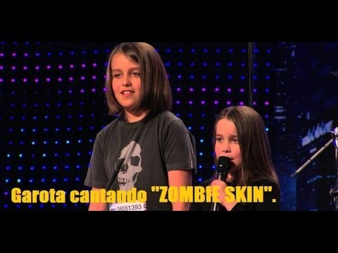 Garota de 6 anos surpreende jurados em america's got talent cantando ''zombie skin''.