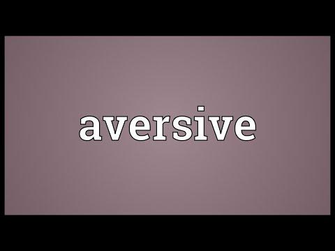 Header of aversive