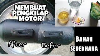 Kreatif ! Cara membuat pengkilap bodi motor dengan bahan sederhana