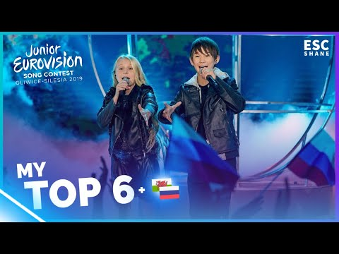 Junior Eurovision 2019: My TOP 6 (So far)