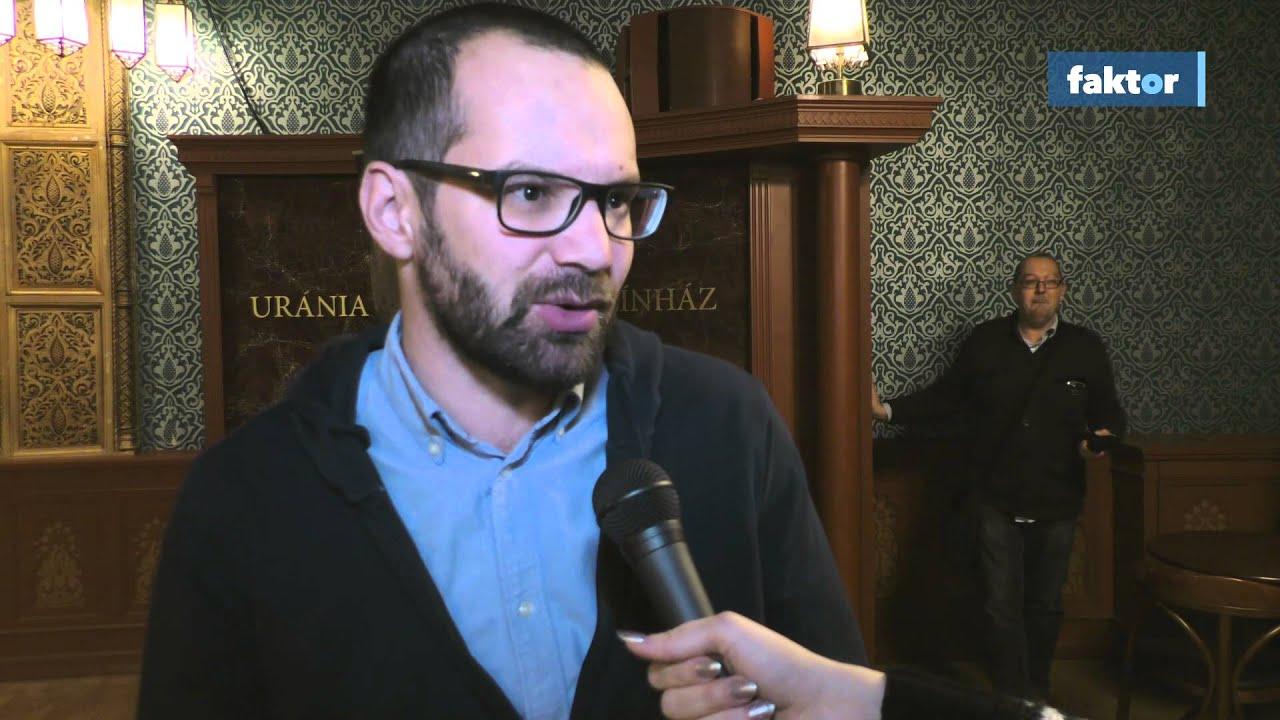 Ezt mondta a Saul fia operatőre, Erdély Mátyás az Oscar-jelölés után a Faktornak - videó!