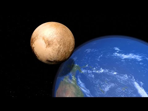 ¿Qué pasaría si Plutón chocase contra la Tierra?