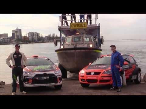 Teams Arrive for International Rally of Queensland