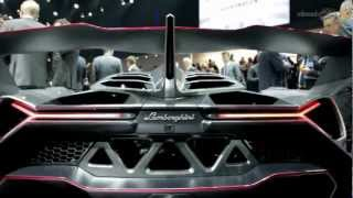 Car for 3.9 million.Lamborghini Veneno - 2013 Geneva Auto Show (commercial)