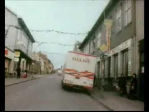 E18 gjennom Larvik sentrum (1974)