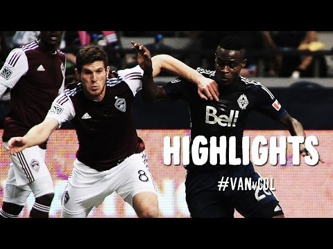 HIGHLIGHTS: Vancouver Whitecaps FC vs. Colorado Rapids | April 5, 2014