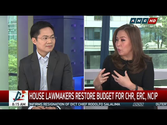 Not public pressure: Why House agreed to give P508-M budget to CHR