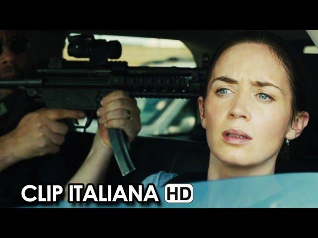 SICARIO Clip Italiana 'Attacco nel traffico' (2015) - Denis Villeneuve Movie HD