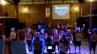 Blue Warriors Team Cheer and Yell (JLA Camp 2011)