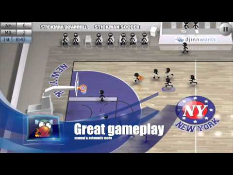 Stickman Basketball APK Cover