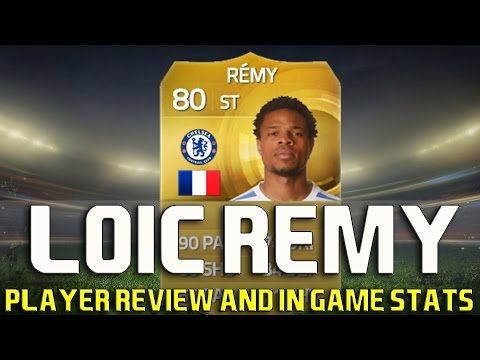 FIFA 15 LOIC REMY PLAYER REVIEW AND IN GAME STATS!