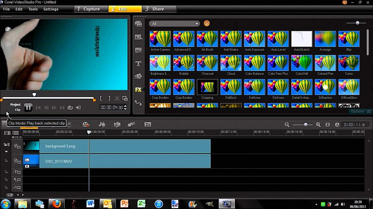 how to use green screen chroma key in corel video studio. Black Bedroom Furniture Sets. Home Design Ideas