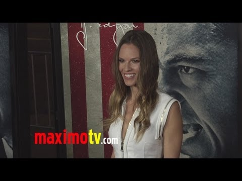 Hilary Swank at