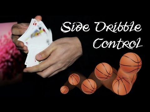 Amazing card control - Side Dribble Control