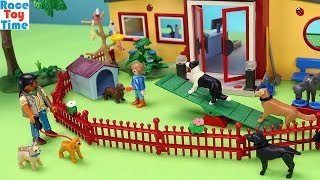 Playmobil Animals Hotel Building Playset - Fun Toys For Kids