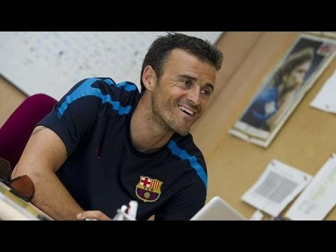 Luis Enrique signs two year contract
