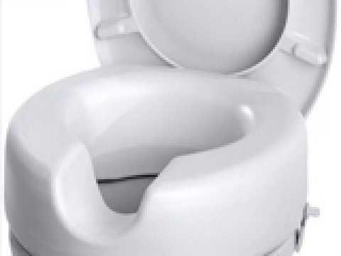 Axentia 282860 WC-Sitzerhöhung Kunststoff