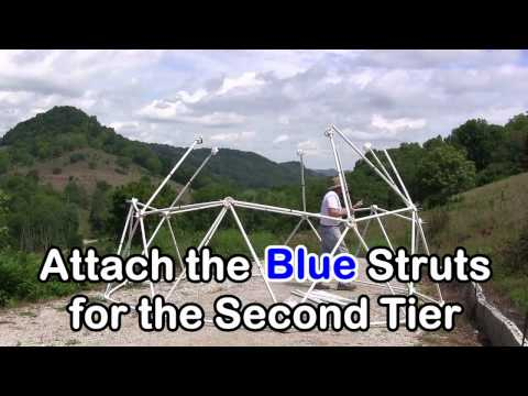 Zip Tie Domes: How to Build A 16 Foot Geodesic Dome