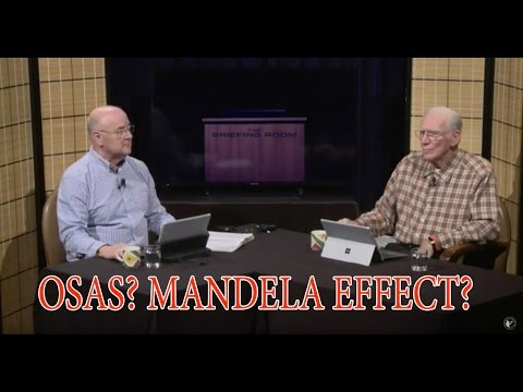 Once Saved Always Saved? Mandela Effect? Age of the Universe? QA 13 July 2016