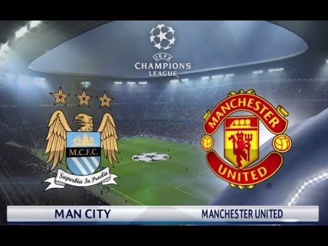 Manchester United vs Manchester City - FULL MATCH GAMEPLAY -  PES 2016