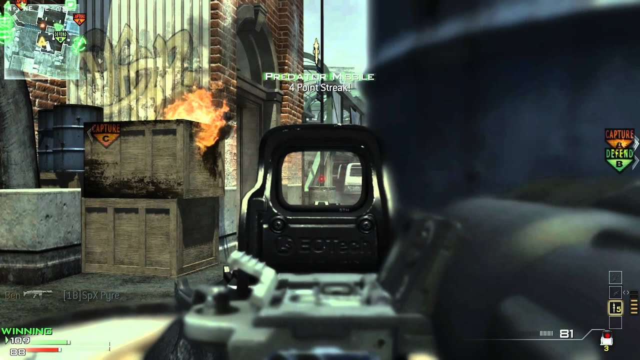 Hybrid Sight Mw3 Dom With Acr Hybrid Sight