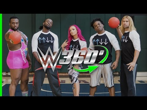 Watch WWE Game Night Dodgeball in 360!