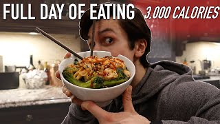 What I Eat In A Day To Maintain My Physique | 3,000 CALORIES | Lockdown VLOG