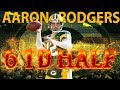 Aaron Rodgers 6 Touchdowns In One Half! (Bears Vs. Packers, 2014) | NFL Vault Highlights
