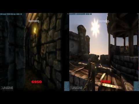XFX HD 6950 vs HD 7950 Heaven Benchmark
