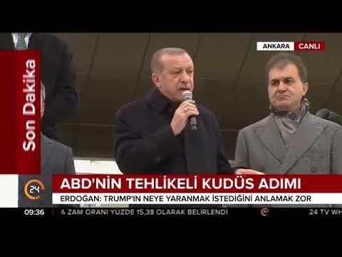 Cumhurbaşkanı Erdoğan : Trump sen ne yapmak istiyorsun?
