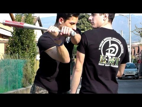 KRAV MAGA TRAINING • How to block the Baseball Bat Image 1