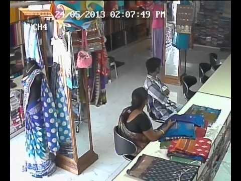 Shop Lifting at Vanasthali Puram Saree Shop
