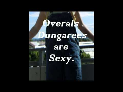 Sexy Latzhosen Overall Shorts   Dungarees For Girls And Boys. video